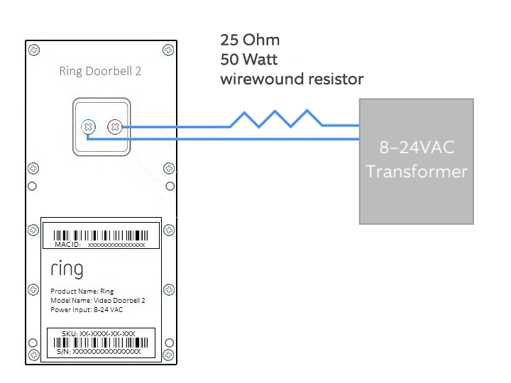 How To Connect Your Ring Video Doorbell 2 Directly A Low Voltage Rhsupportring: Moonrays Transformer Wiring Diagram At Gmaili.net