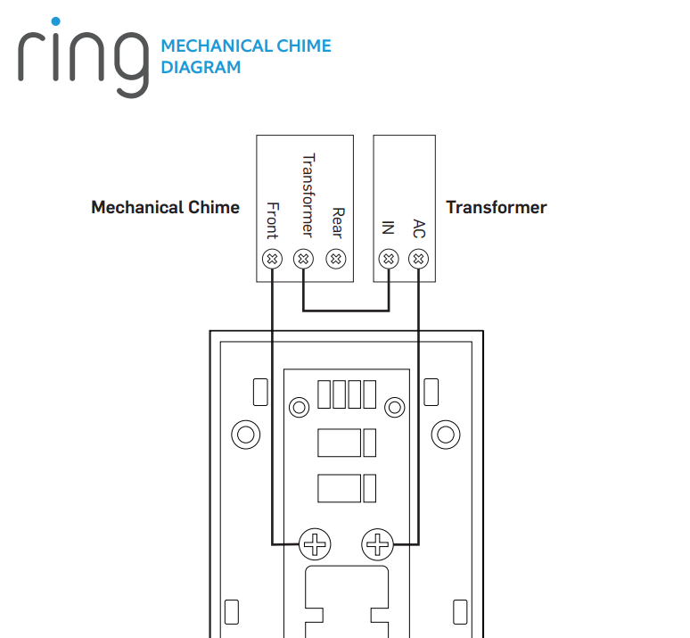 Wiring diagram doorbell two chimes wiring solutions dual chime doorbell wiring one library cheapraybanclubmaster