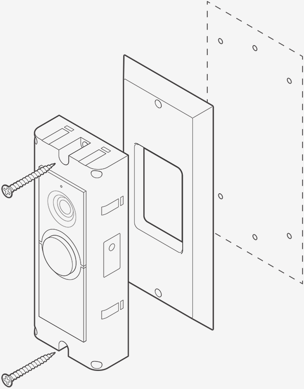 installing doorbell pro retrofit kit ring help