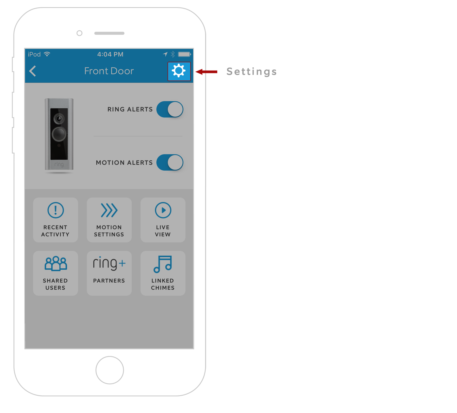 Disabling Your In Home Doorbell Chime On Ring Pro Help Household Wiring Select Kit Settings